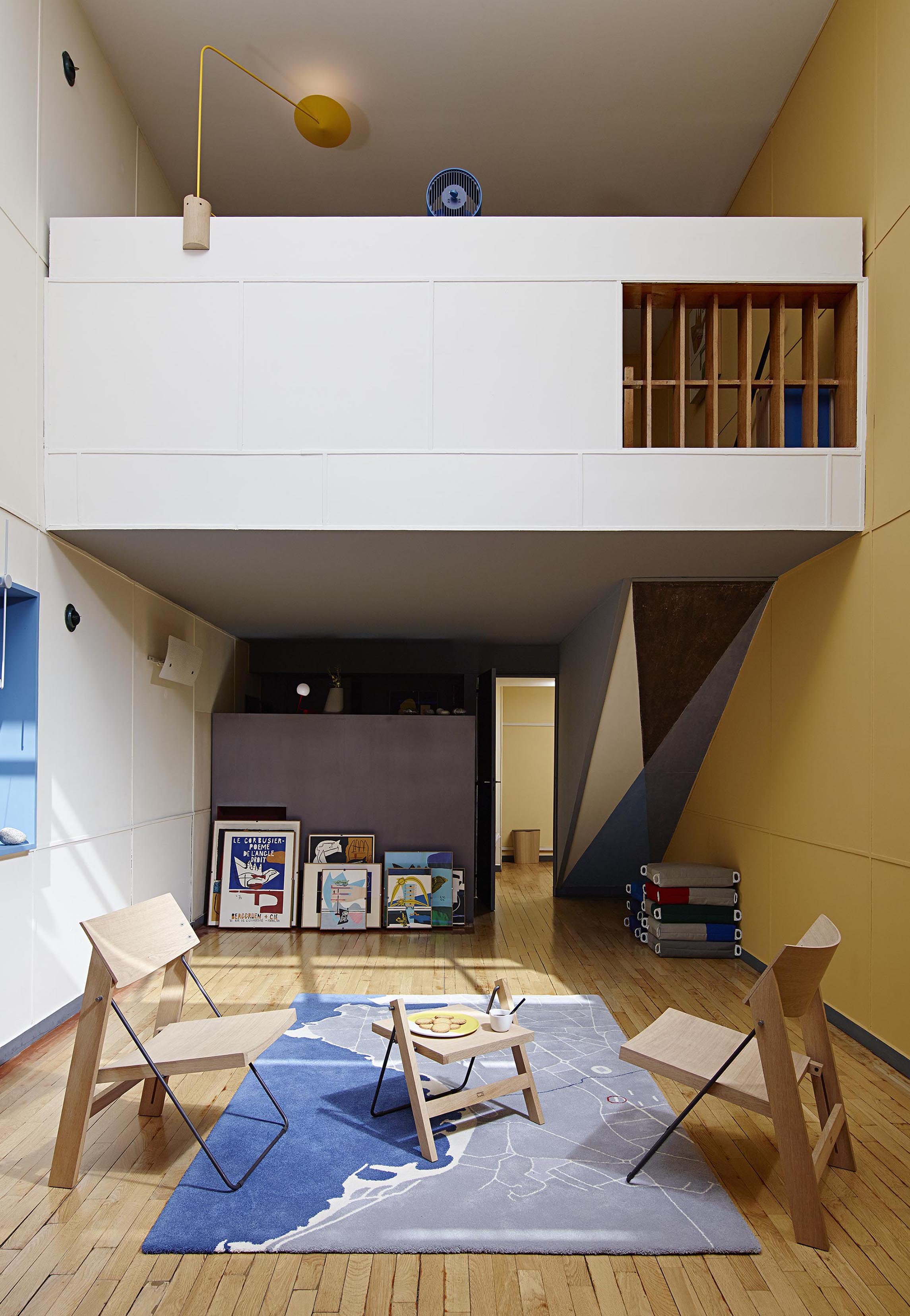 ECAL, Appartement 50 in Cite Radieuse